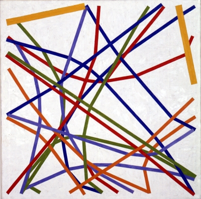 Kenneth-Martin-Chance-Order-Change-21...Divergences-1-1982-oil-on-canvas-91.4-x-91.4-©-The-Estate-of-the-Artist-courtesy-Annely-Juda-Fine-Art-London