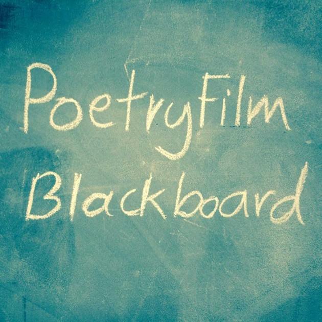 poetryfilm blackboard