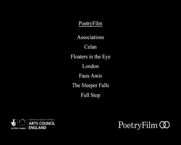 PoetryFilm Equinox menu screen
